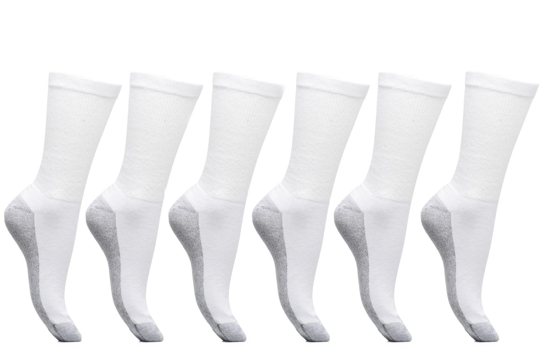 Sokken en panty's Dim Mi-Chaussette Ecodim Sport Lot de 6 Wit detail