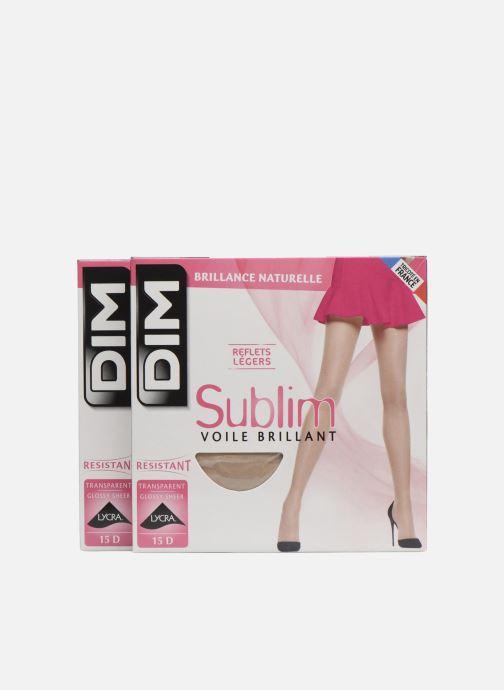 Sokken en panty's Dim Collant Sublime Voile Brillant Pack de 2 Beige detail