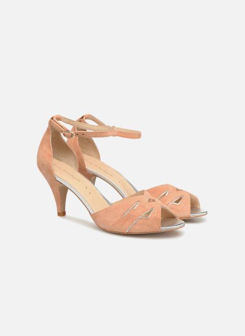Sandales et nu-pieds Petite mendigote Charme Rose vue 3/4