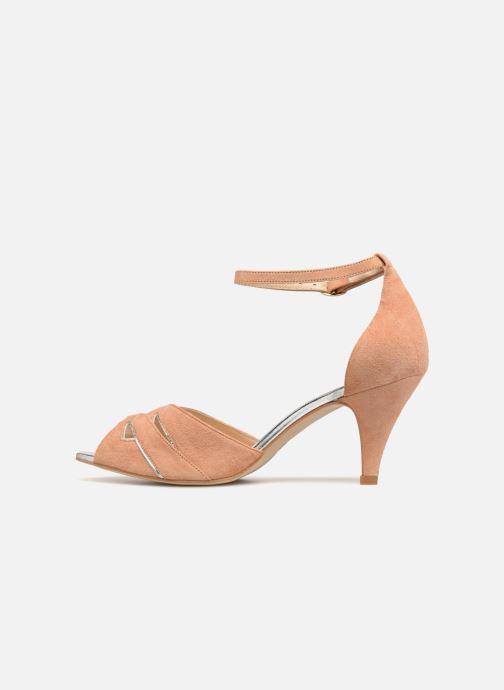 Sandales et nu-pieds Petite mendigote Charme Rose vue face