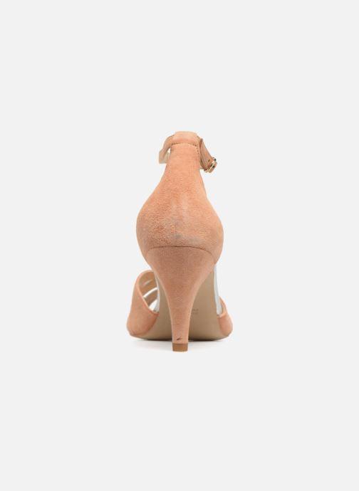 Sandales et nu-pieds Petite mendigote Charme Rose vue droite
