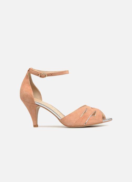 Sandales et nu-pieds Petite mendigote Charme Rose vue derrière
