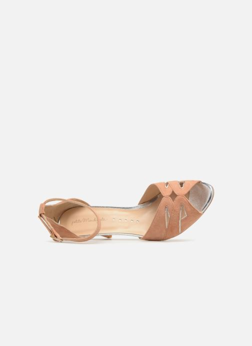 Sandals Petite mendigote Charme Pink view from the left