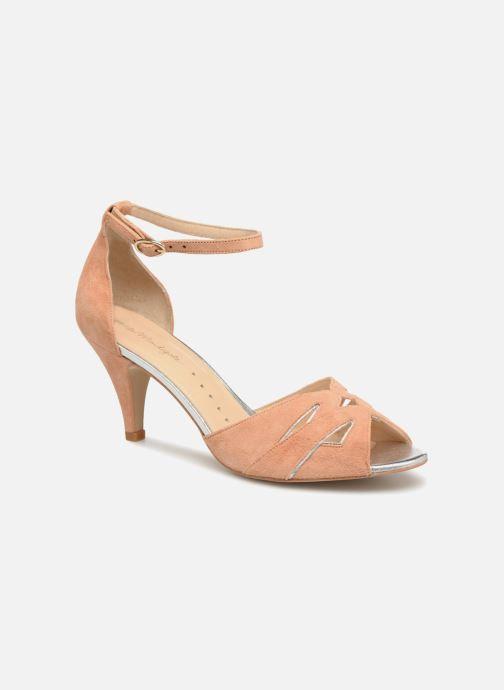 Sandales et nu-pieds Petite mendigote Charme Rose vue détail/paire