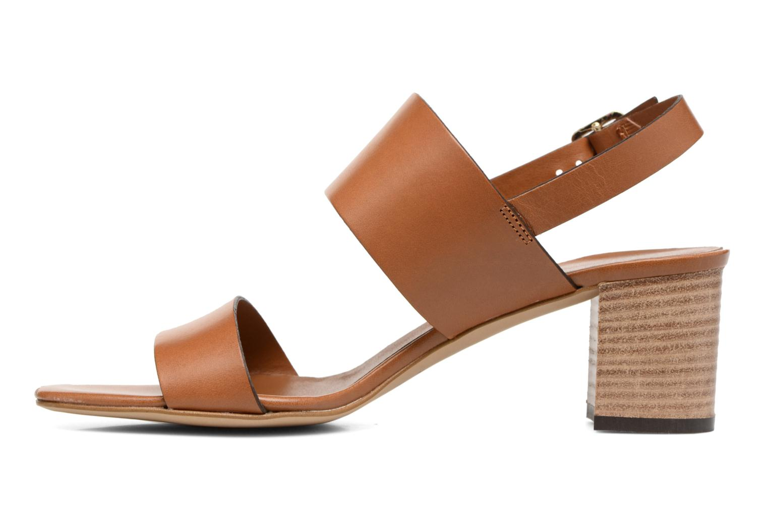 Sandals Georgia Rose Batine Brown front view