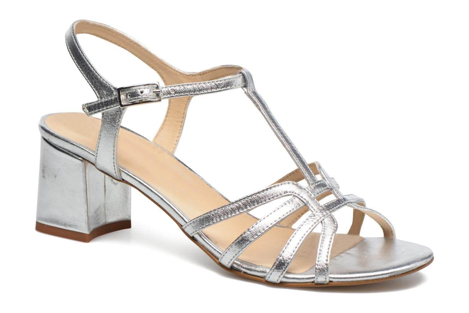 Sandals Georgia Rose Bachic Silver detailed view/ Pair view