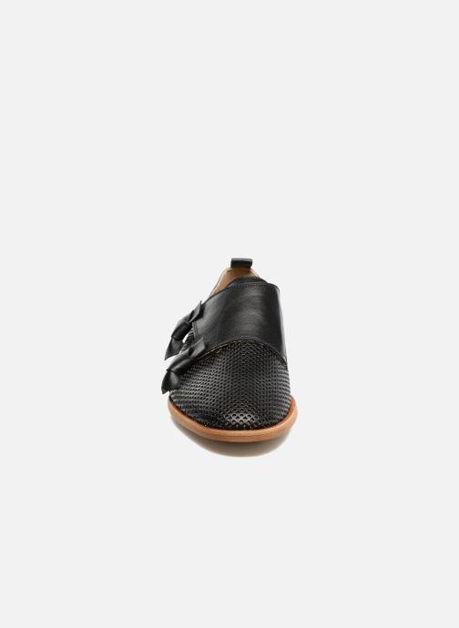 Mocassins MAURICE manufacture Jeff Noir vue portées chaussures