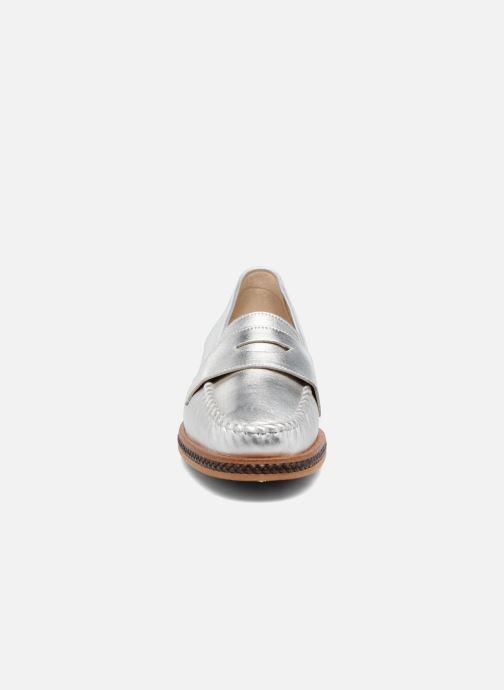 Mocassins MAURICE manufacture Seb Argent vue portées chaussures