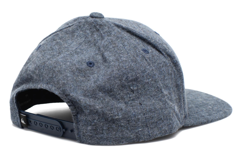 Casquettes Quiksilver Decades M Plus Cap Bleu vue portées chaussures