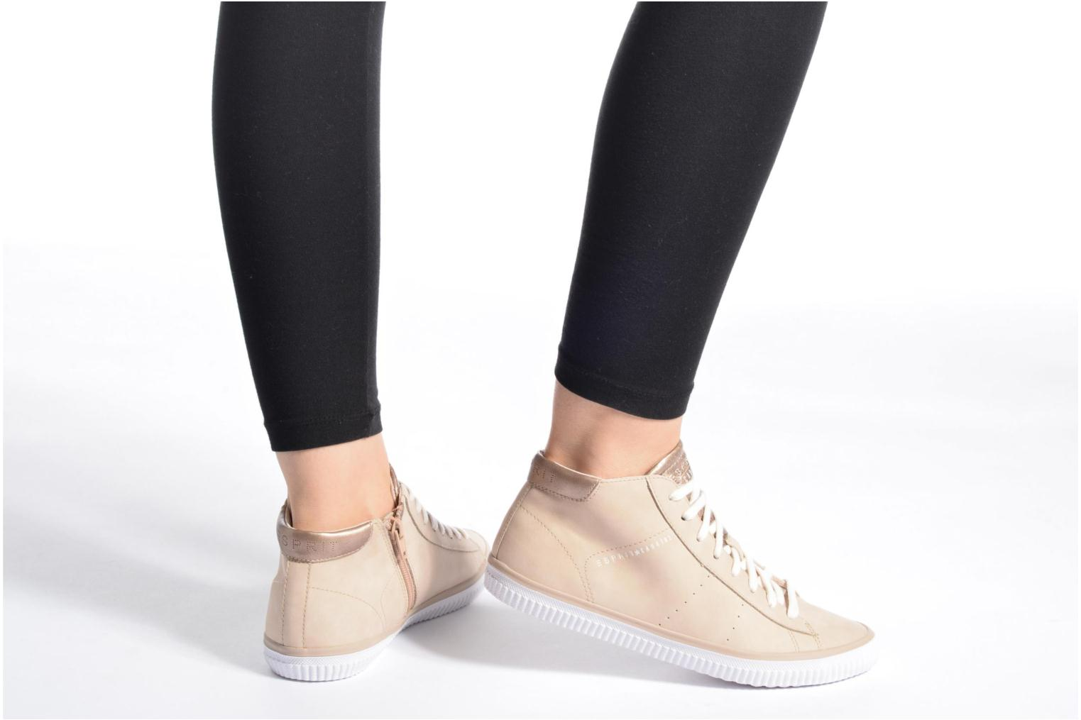 Trainers Esprit Riata Bootie Beige view from underneath / model view
