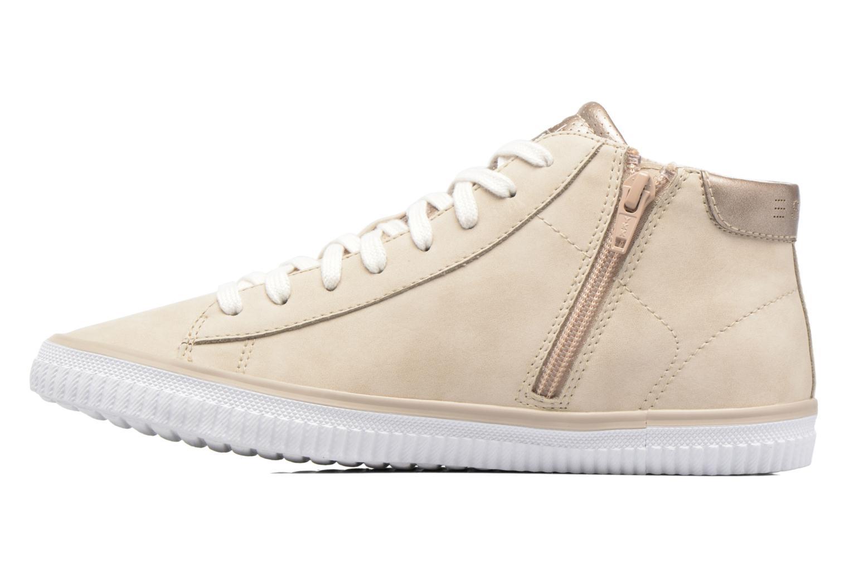 Sneakers Esprit Riata Bootie Beige immagine frontale