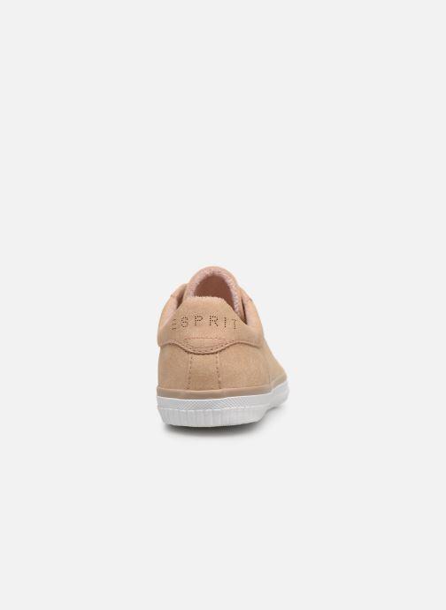 Sneakers Esprit Riata Lace Up Beige rechts