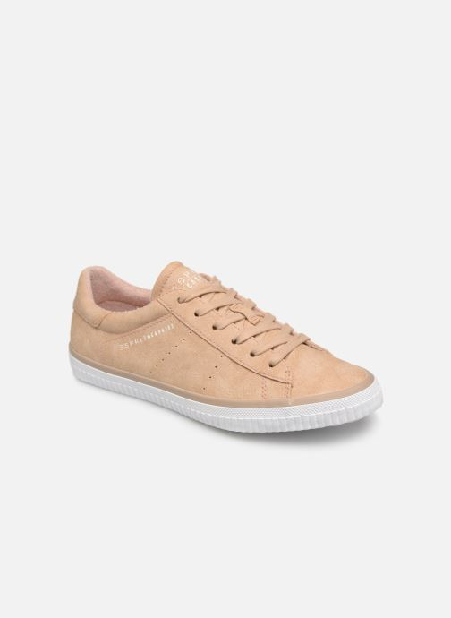 Trainers Esprit Riata Lace Up Beige detailed view/ Pair view
