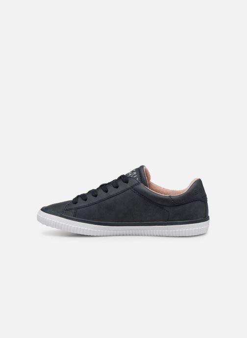 Sneakers Esprit Riata Lace Up Blauw voorkant