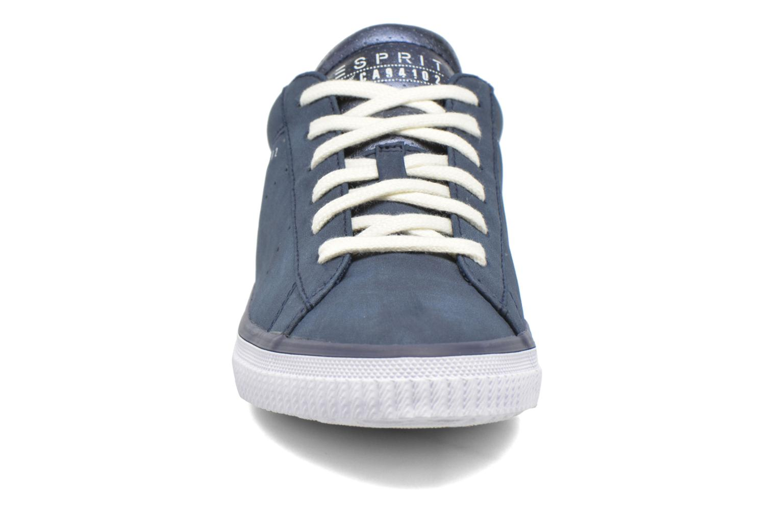 Trainers Esprit Riata Lace Up Blue model view