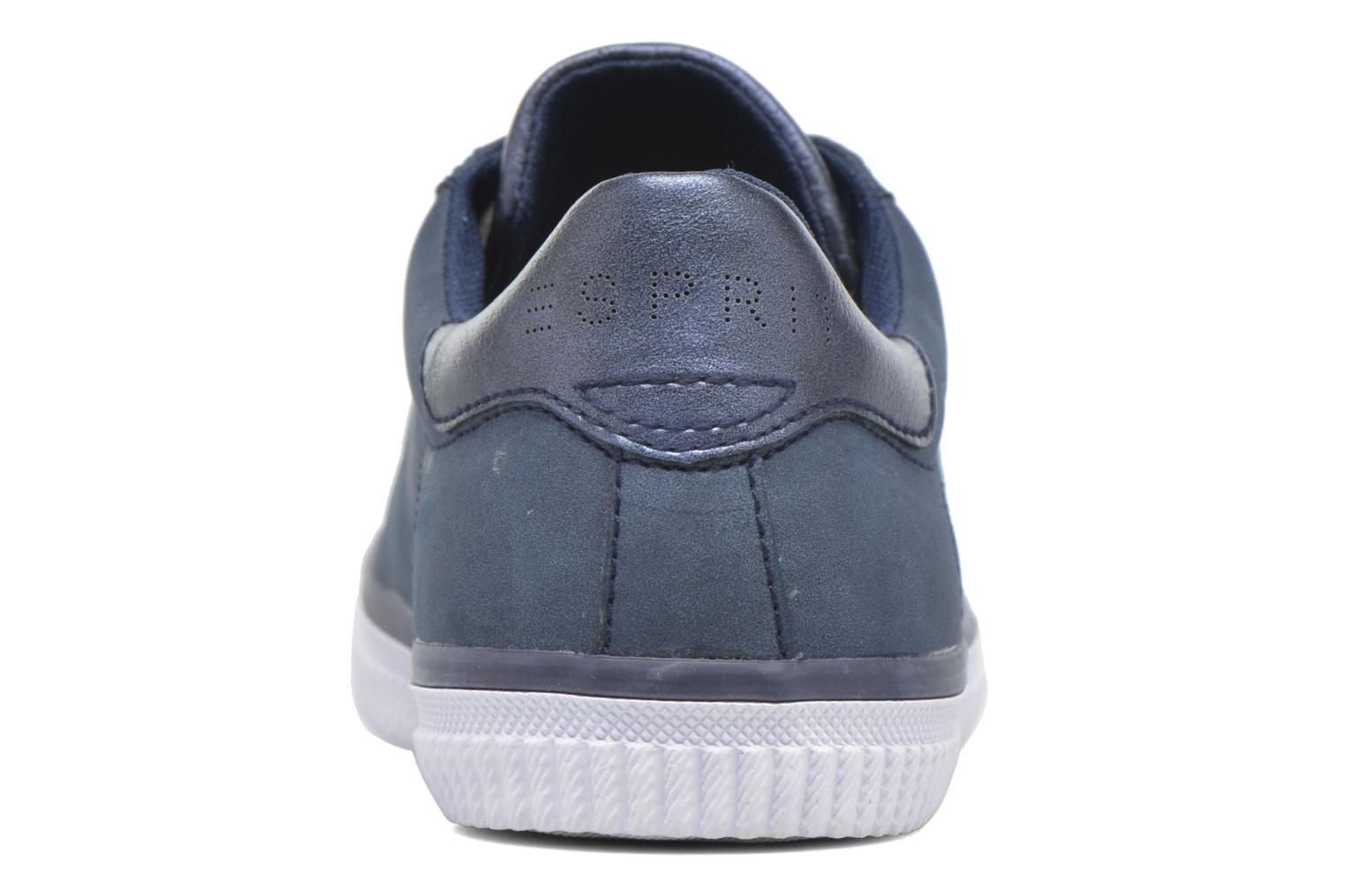 Trainers Esprit Riata Lace Up Blue view from the right