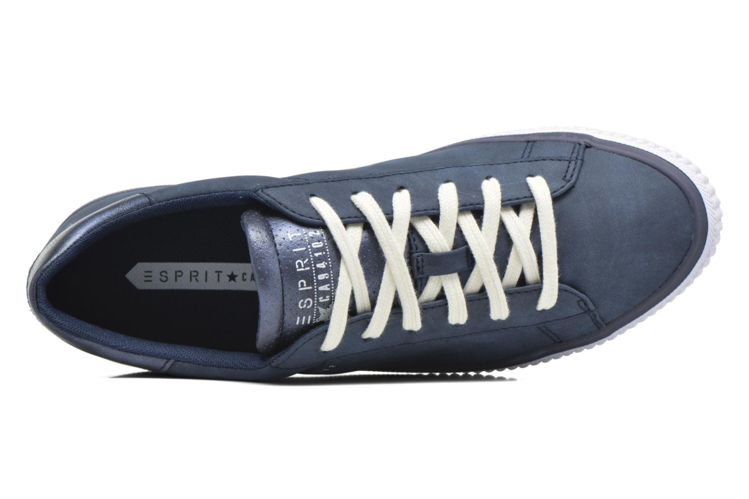 Trainers Esprit Riata Lace Up Blue view from the left