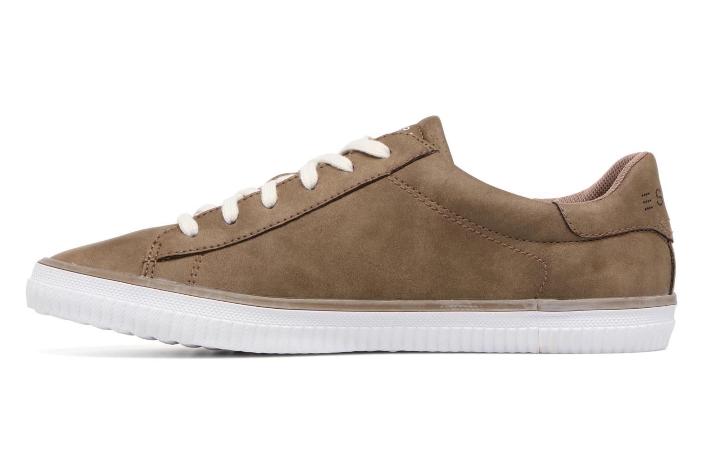 Sneakers Esprit Riata Lace Up Marrone immagine frontale