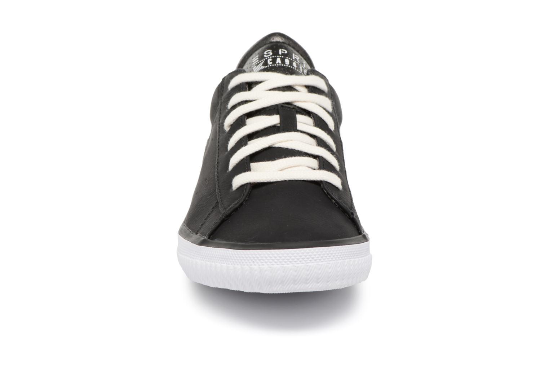 Sneaker Esprit Riata Lace Up schwarz schuhe getragen