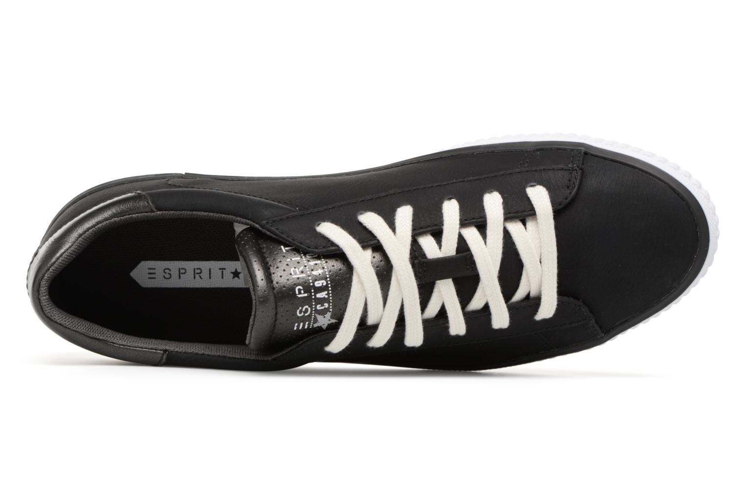 Trainers Esprit Riata Lace Up Black view from the left