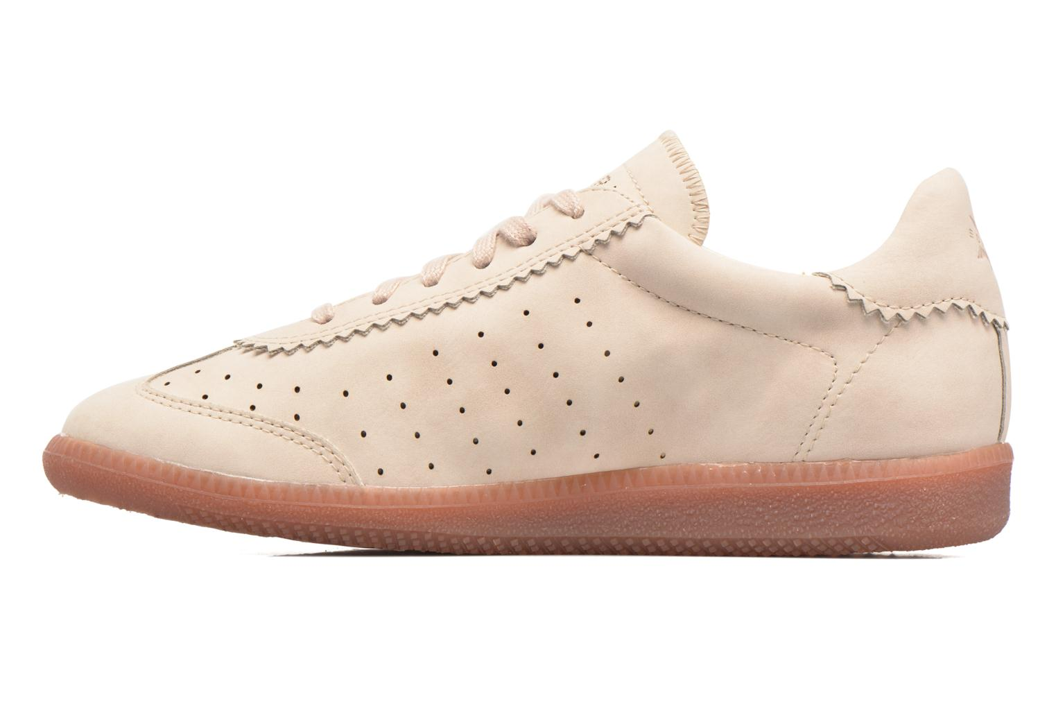 Baskets Esprit Trainee Lace Up Beige vue face