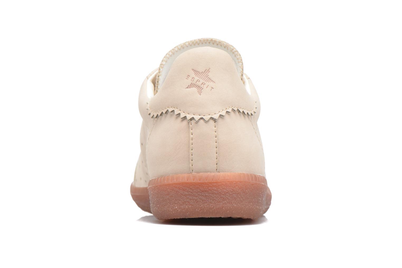 Sneaker Esprit Trainee Lace Up beige ansicht von rechts
