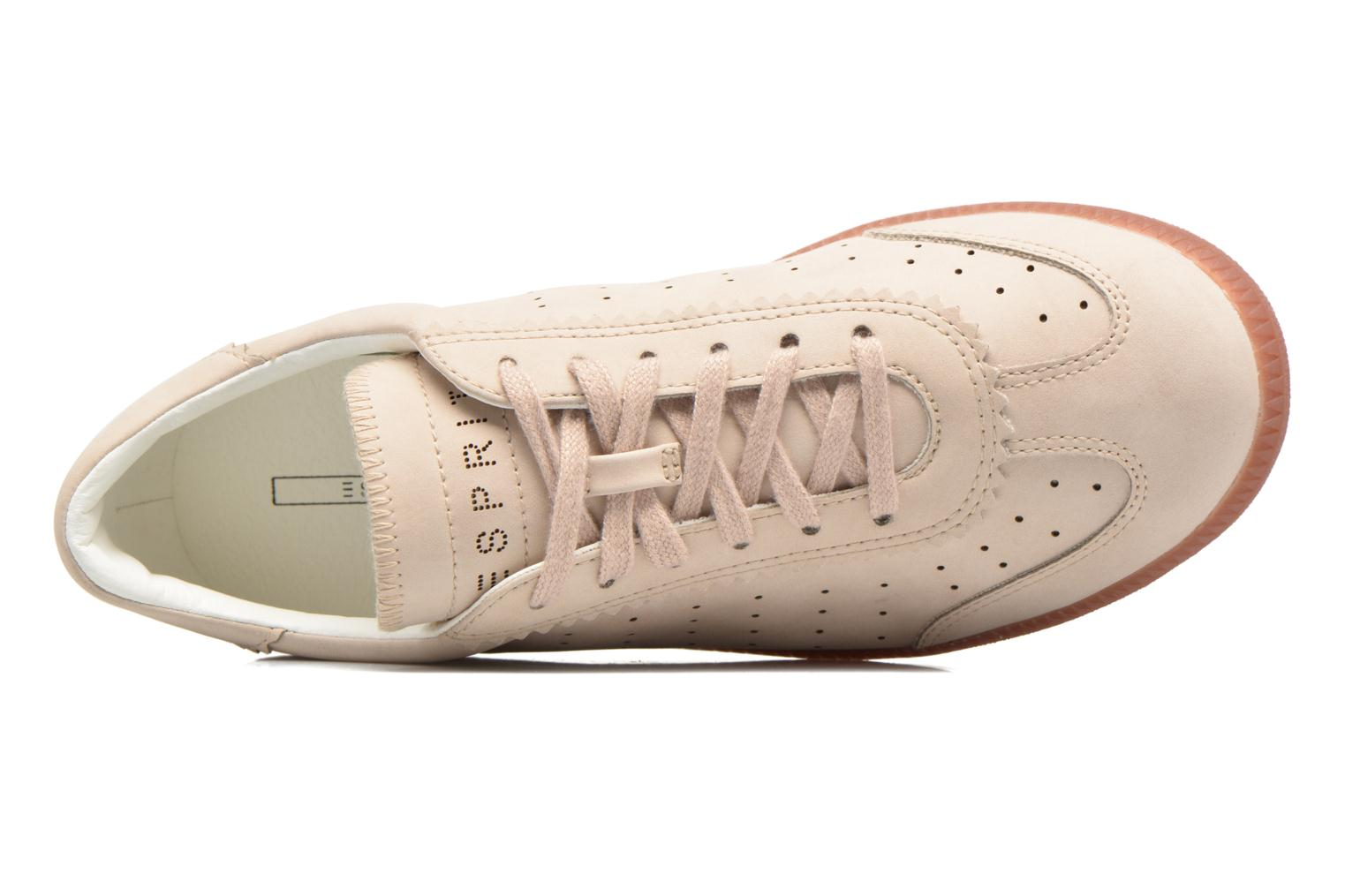 Baskets Esprit Trainee Lace Up Beige vue gauche