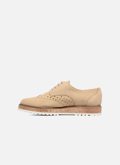 Zapatos con cordones Esprit Crissy Lace Up Beige vista de frente