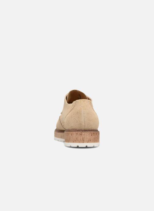 Scarpe con lacci Esprit Crissy Lace Up Beige immagine destra