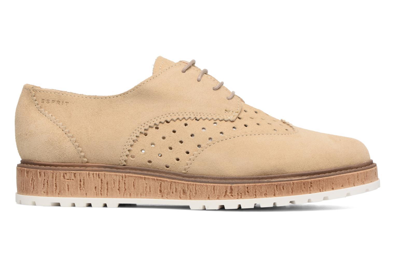 Chaussures à lacets Esprit Crissy Lace Up Beige vue derrière