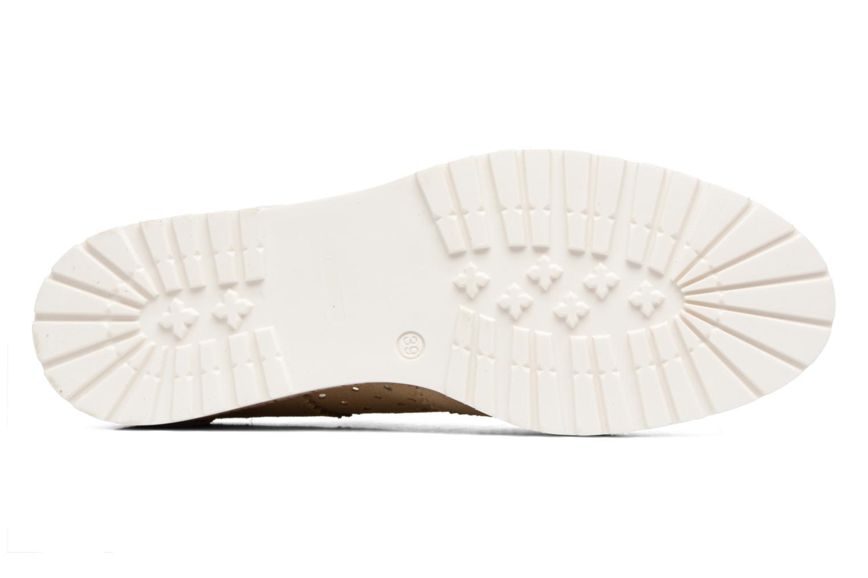 Chaussures à lacets Esprit Crissy Lace Up Beige vue haut