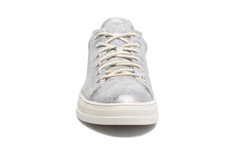 Baskets Esprit Sidney Lace Up Argent vue portées chaussures