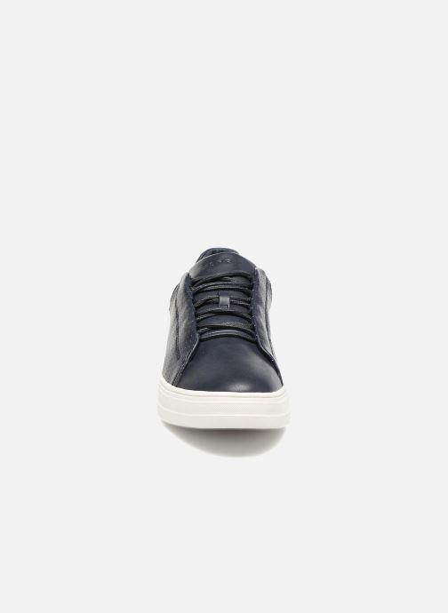 Baskets Esprit Sidney Perf lace up Bleu vue portées chaussures