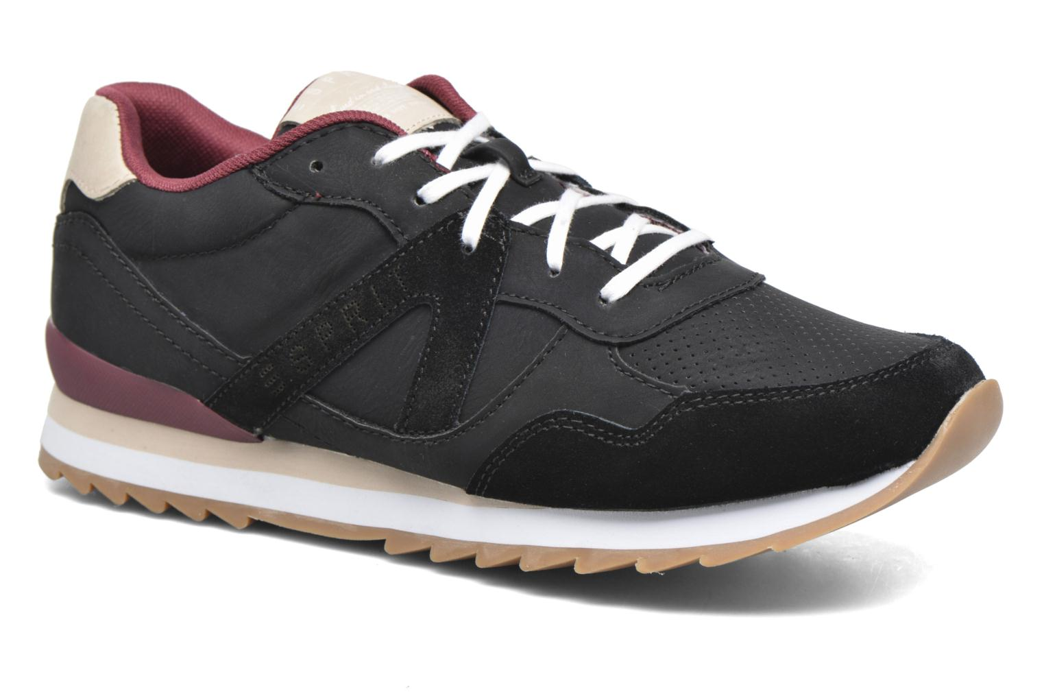 Trainers Esprit Astro Lace Up Black detailed view/ Pair view