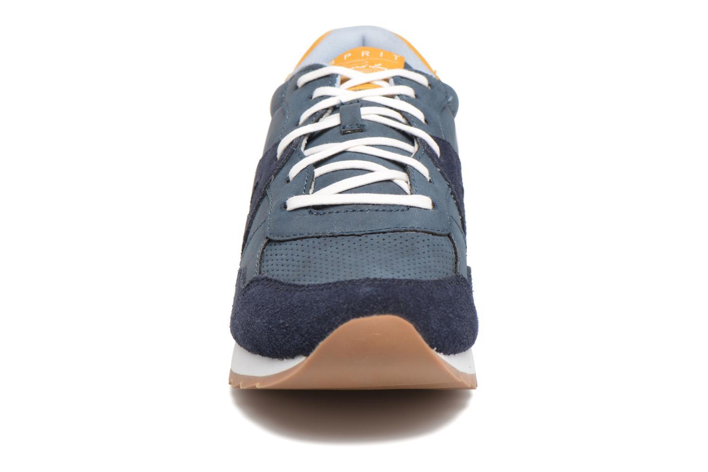 Baskets Esprit Astro Lace Up Bleu vue portées chaussures