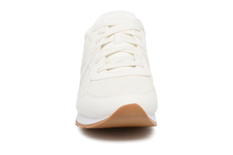 Baskets Esprit Astro Lace Up Blanc vue portées chaussures