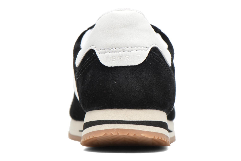 Baskets Esprit Amu Lace Up Noir vue droite