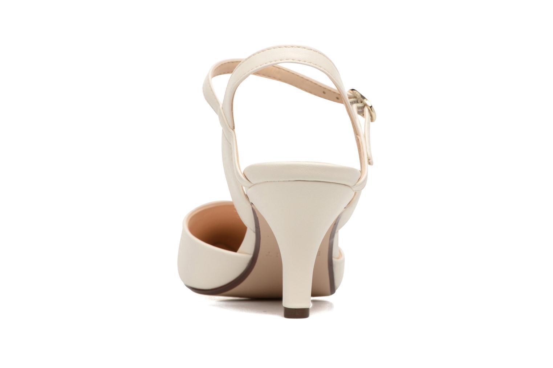 Zapatos de tacón Esprit Pyra Sandal Blanco vista lateral derecha