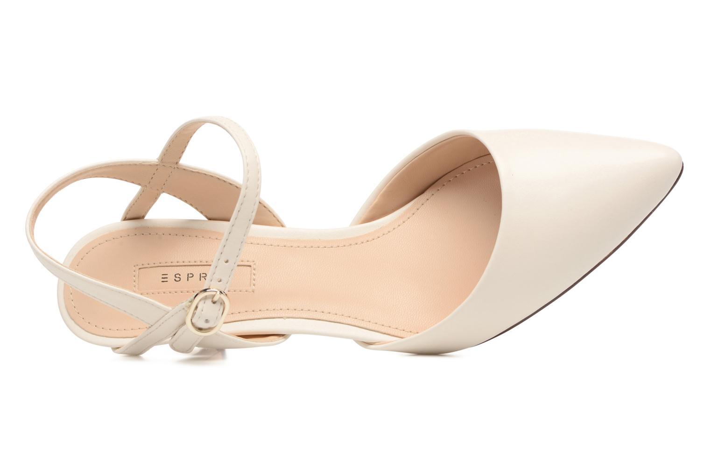 Zapatos de tacón Esprit Pyra Sandal Blanco vista lateral izquierda