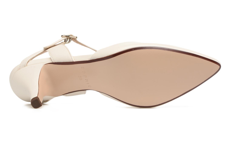 Zapatos de tacón Esprit Pyra Sandal Blanco vista de arriba