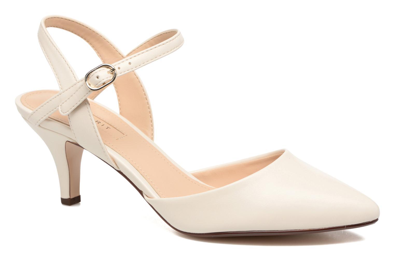 Zapatos de tacón Esprit Pyra Sandal Blanco vista de detalle / par