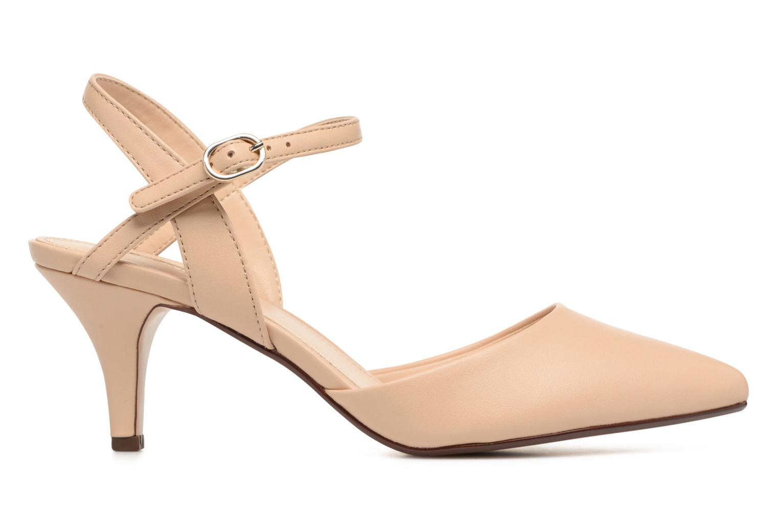 High heels Esprit Pyra Sandal Beige back view