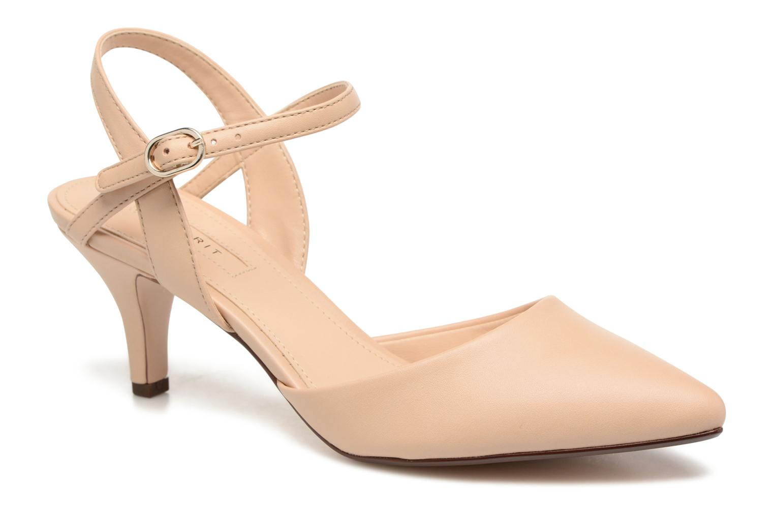 High heels Esprit Pyra Sandal Beige detailed view/ Pair view