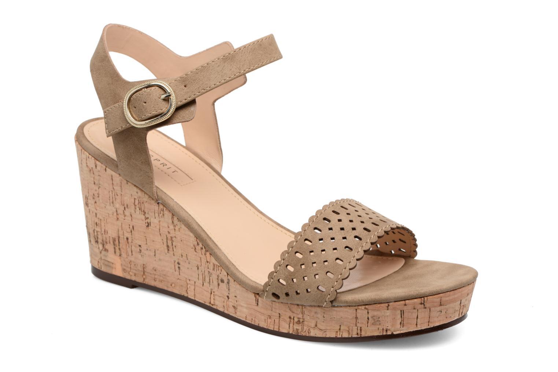 Sandales et nu-pieds Esprit Gessie Sandal Marron vue détail/paire