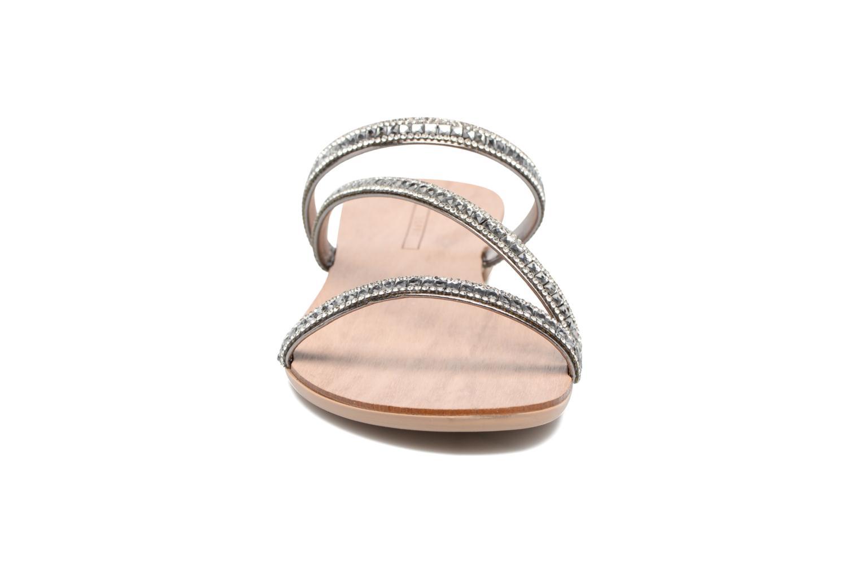 Sandalen Esprit Nil sandal silber schuhe getragen