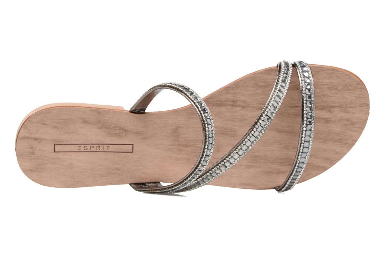 Sandalen Esprit Nil sandal silber ansicht von links