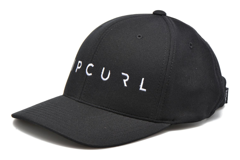 Gorra Rip Curl RC Hybrid cap Negro vista de detalle / par