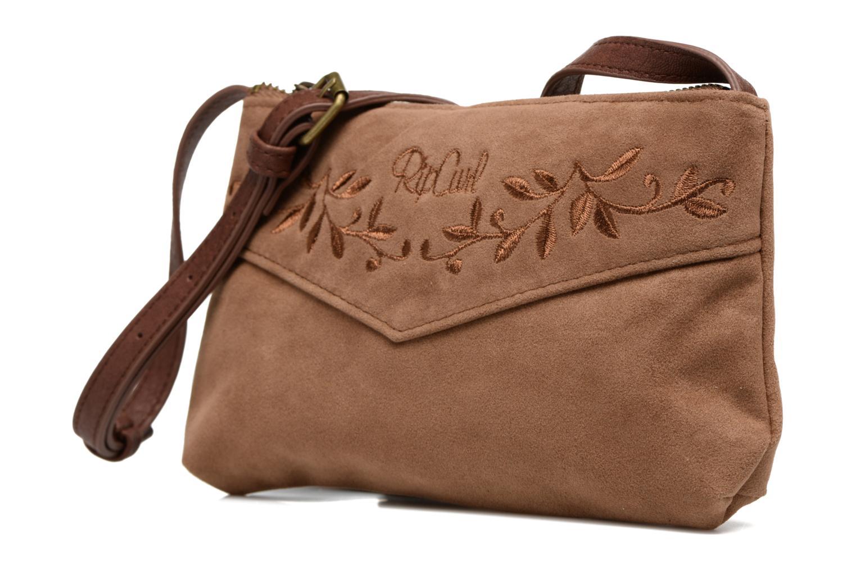 Handtaschen Rip Curl Talamanca suede Festival bag braun schuhe getragen
