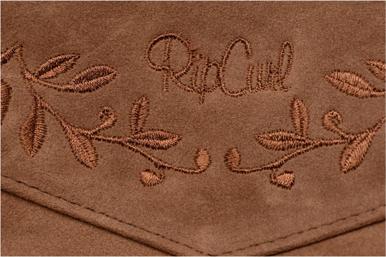 Handtaschen Rip Curl Talamanca suede Festival bag braun ansicht von hinten