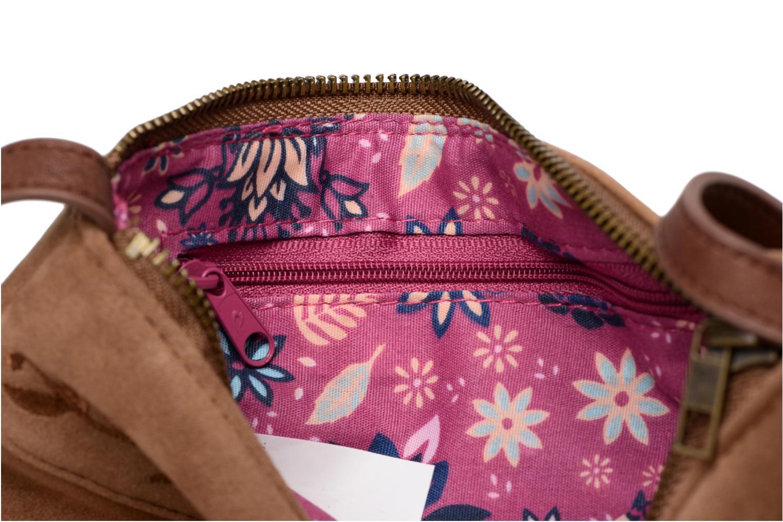 Handtaschen Rip Curl Talamanca suede Festival bag braun ansicht von links